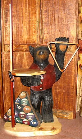 Horn Mountain Living - Bear Cue Stand