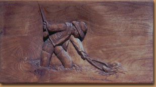 Horn Mountain Living - Relief Carving