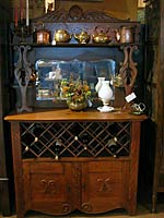 Horn Mountain Living - Wine Cabinet